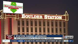 Station Casinos announces upgrades to movie theaters - Video