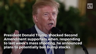 Trump Shakes Up Second Amendment With Bump Stock Decision - Video