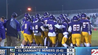 23FNL playoffs week 3 El Diamante v Ridgeview - Video
