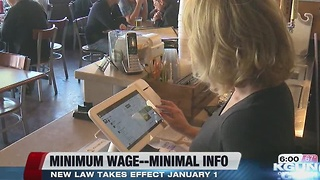 Bosses hunting for how to comply with new minimum wage - Video