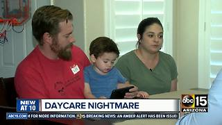 Parents outraged after child bitten multiple times at Glendale daycare - Video