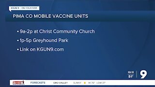 Pima Co. to host mobile vaccine clinics this weekend