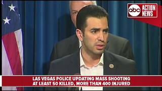 Las Vegas Police update massing shooting that killed 58 and injured more than 500 - Video