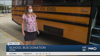 Special needs students get new bus in Jupiter Florida