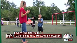 Making kids feel safe after tragedy - Video