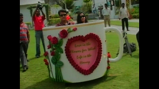 Valentines Coffee Cup Car - Video