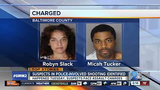 Two suspects charged in theft that lead to police shooting - Video