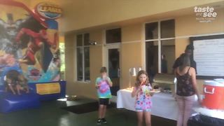 Friday Night Family Fun in Lake Worth - Video