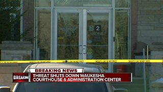 Waukesha County Courthouse closed due to bomb threat