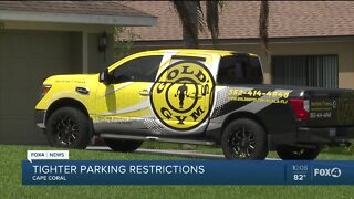 Cape Coral tightening parking restrictions