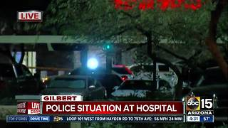 Police situation underway at Gilbert medical center