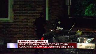 Pregnant woman accused of fatally stabbing mother-in-law - Video
