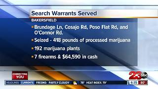 Search warrants served - Video