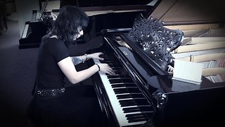 Incredible cover of death metal song played on ancient piano