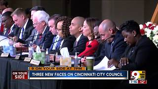 Three new faces on Cincinnati City Council - Video