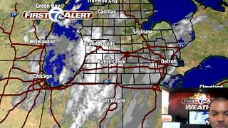 Tracking Saturday Snow - Video