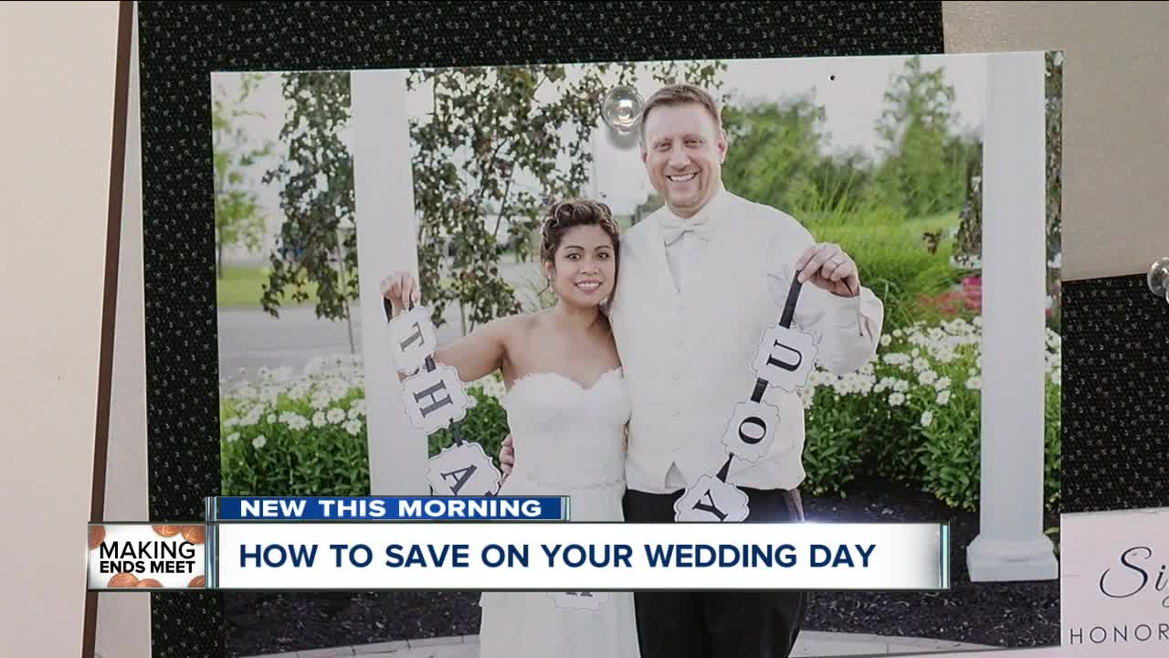 How to save on your wedding day