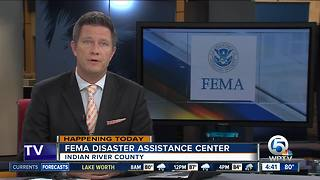 FEMA assistance center opens Friday in Vero Beach - Video