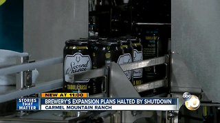 Local breweries in limbo during government shutdown - Video