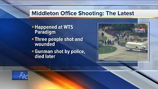 Suspect killed in Middleon office shooting - Video