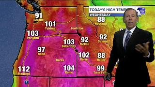 Scott Dorval's On Your Side Forecast: Wednesday, August 2, 2017 - Video