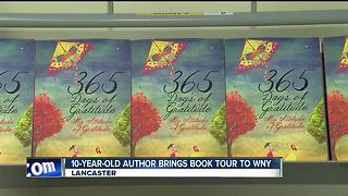 10-year-old author brings book tour to Western New York - Video