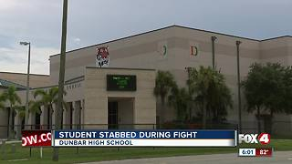Student injured in school stabbing at Dunbar High