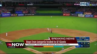 Tampa Bay Rays trade Evan Longoria to San Francisco Giants - Video