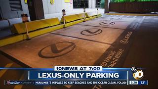 Lexus-only parking? - Video