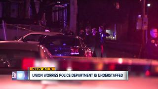 Cleveland police union concerned about police staffing shortage on city's east side - Video
