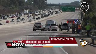 Deadly crash on Interstate 15 - Video
