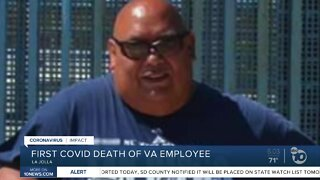 First COVID-19 death of San Diego VA worker