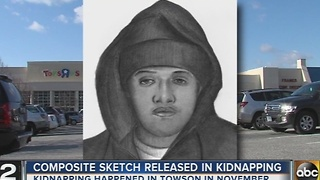Suspect wanted in kidnapping, attempted robbery outside Towson Babies-R-Us - Video