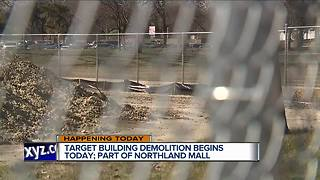 Target building demolition begins today at Northland Center - Video