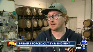 Brewers forced out by rising rent - Video