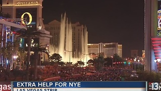 New federal help coming to Las Vegas for NYE - Video