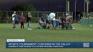 Hundreds of sports teams coming to the Valley amidst COVID surge