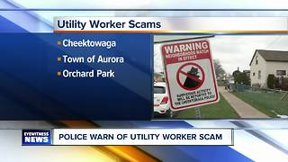 Police searching for utility worker imposters - Video