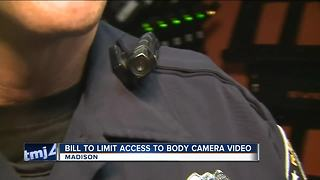 Police support limiting access to bodycam video - Video