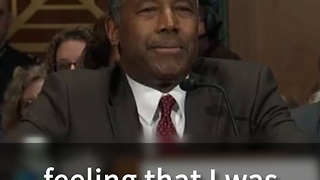 Carson: Equal Rights Does Not Mean Extra Rights - Video