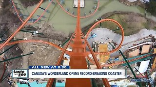 World's tallest, fastest, and longest dive roller coaster is just north of Toronto
