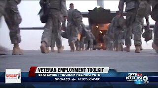 Helping veterans' employment with a statewide toolkit program