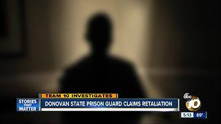 Donovan Prison Guard Claims Retaliation for Exposing Alleged Corruption - Video