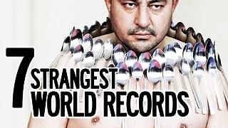 7 Strangest World Records Ever Broken  - Video
