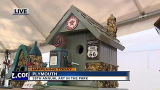 38th annual Art in the Park happening in Plymouth - Video
