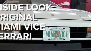 INSIDE LOOK: Miami Vice Car For Sale At Barrett-Jackson - ABC15 Digital - Video
