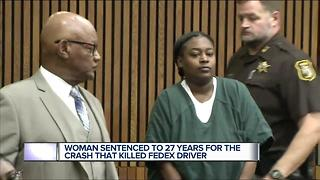 Woman sentenced in fatal drunk driving crash