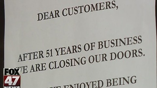 Lansing restaurant closes after 51 years - Video