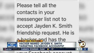 Jayden K. Smith hacking Facebook? - Video
