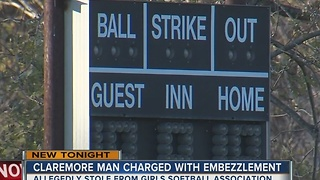 Man allegedly embezzles money from softball team - Video